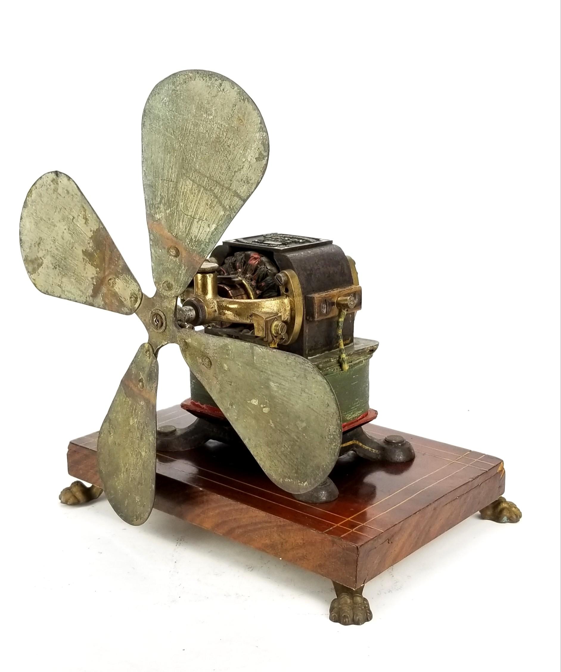 1897 Edison Paris Bipolar Electric Fan