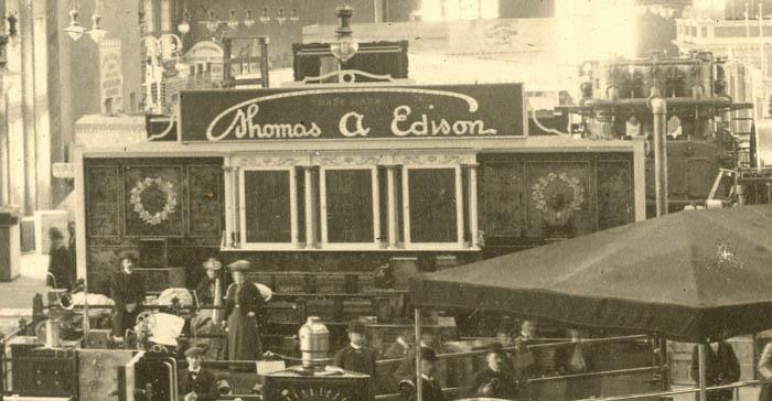 Early Electric 1891 Edison 1/12th HP Slow Speed Motor Bipolar Fan Brass GE