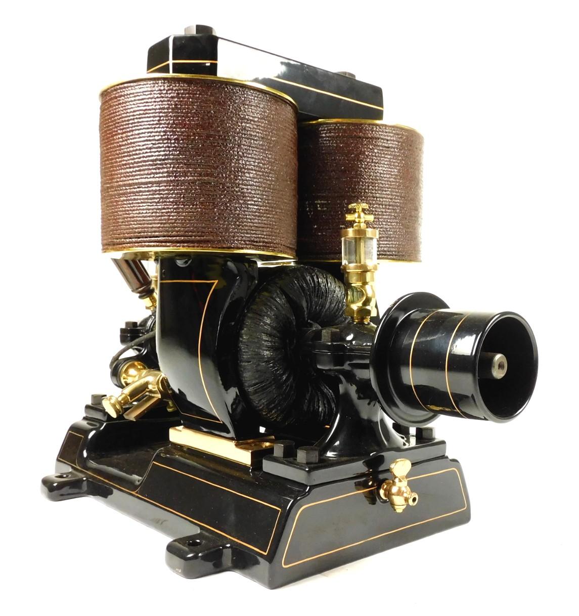 Circa 1890's C&C 5N 220V Bipolar Motor