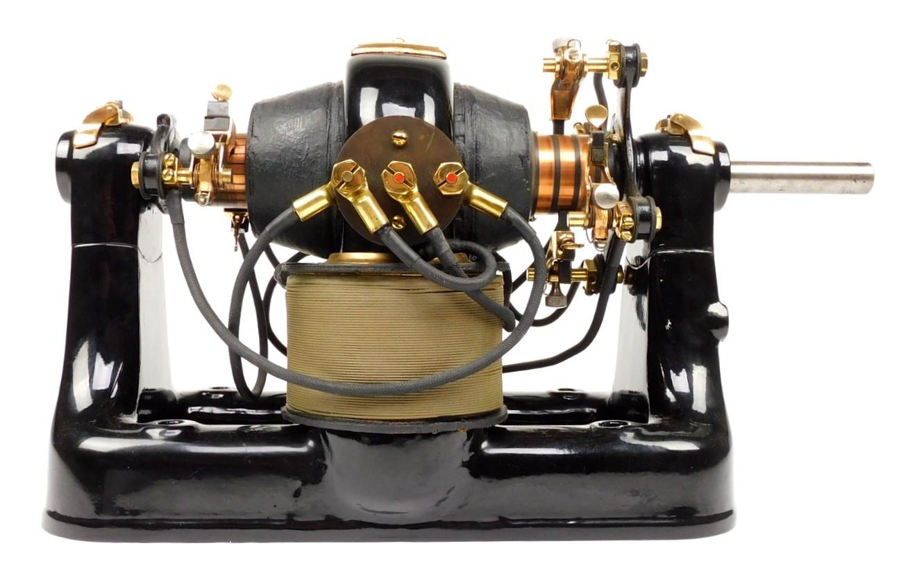 Circa 1895 Western Electric Quarter HP Dynamotor