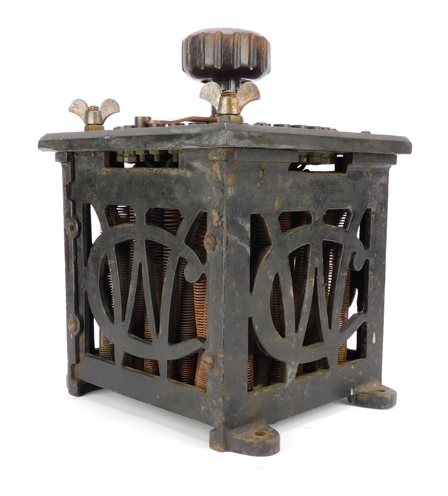 Circa 1889 Crocker Wheeler Dynamo Regulator