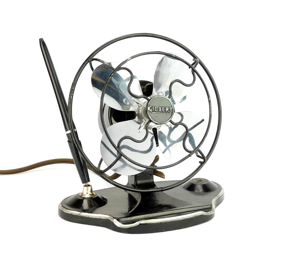 Circa 1935 Gilbert Desk Fan Pen Set