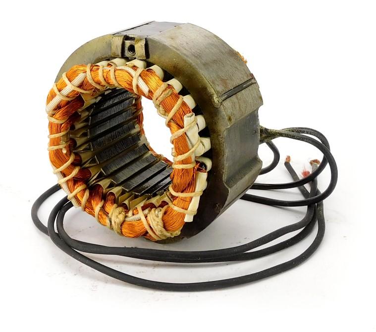 """GE 8"""" All Brass Rewound Stator"""