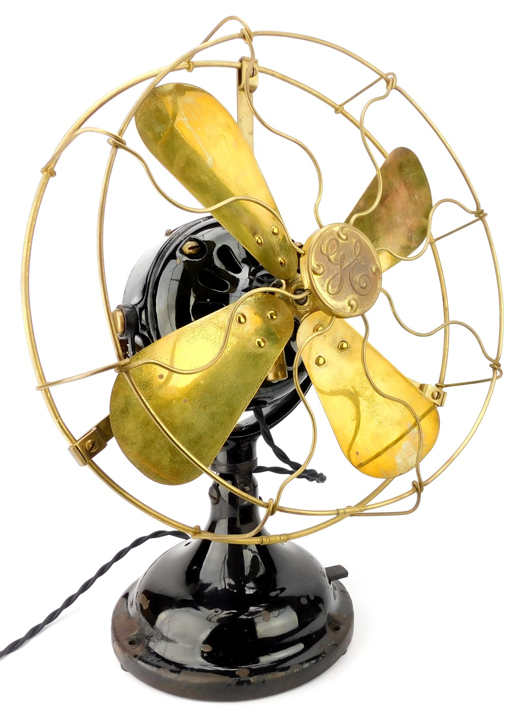 "Circa 1910 GE BMY 12"" Second Variant Desk Fan"