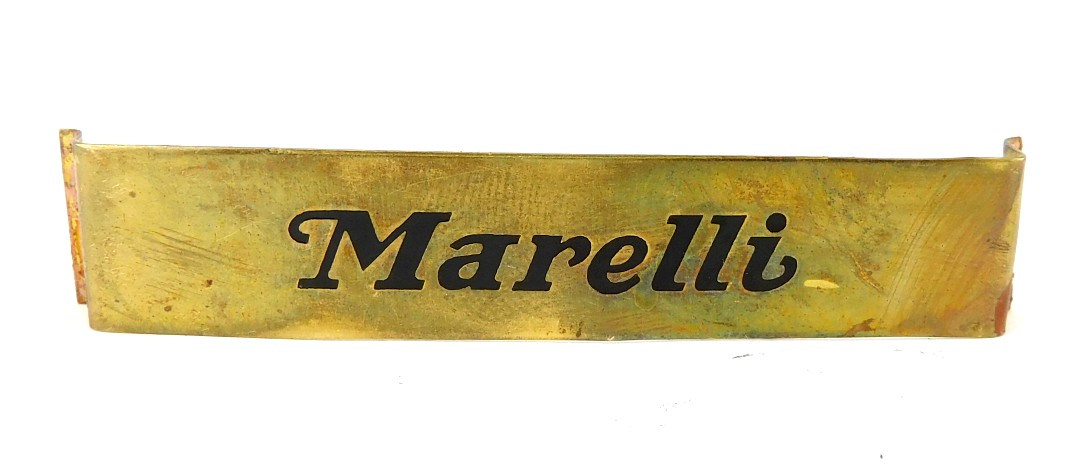 Marelli Cage/Guard Badge New Old Stock
