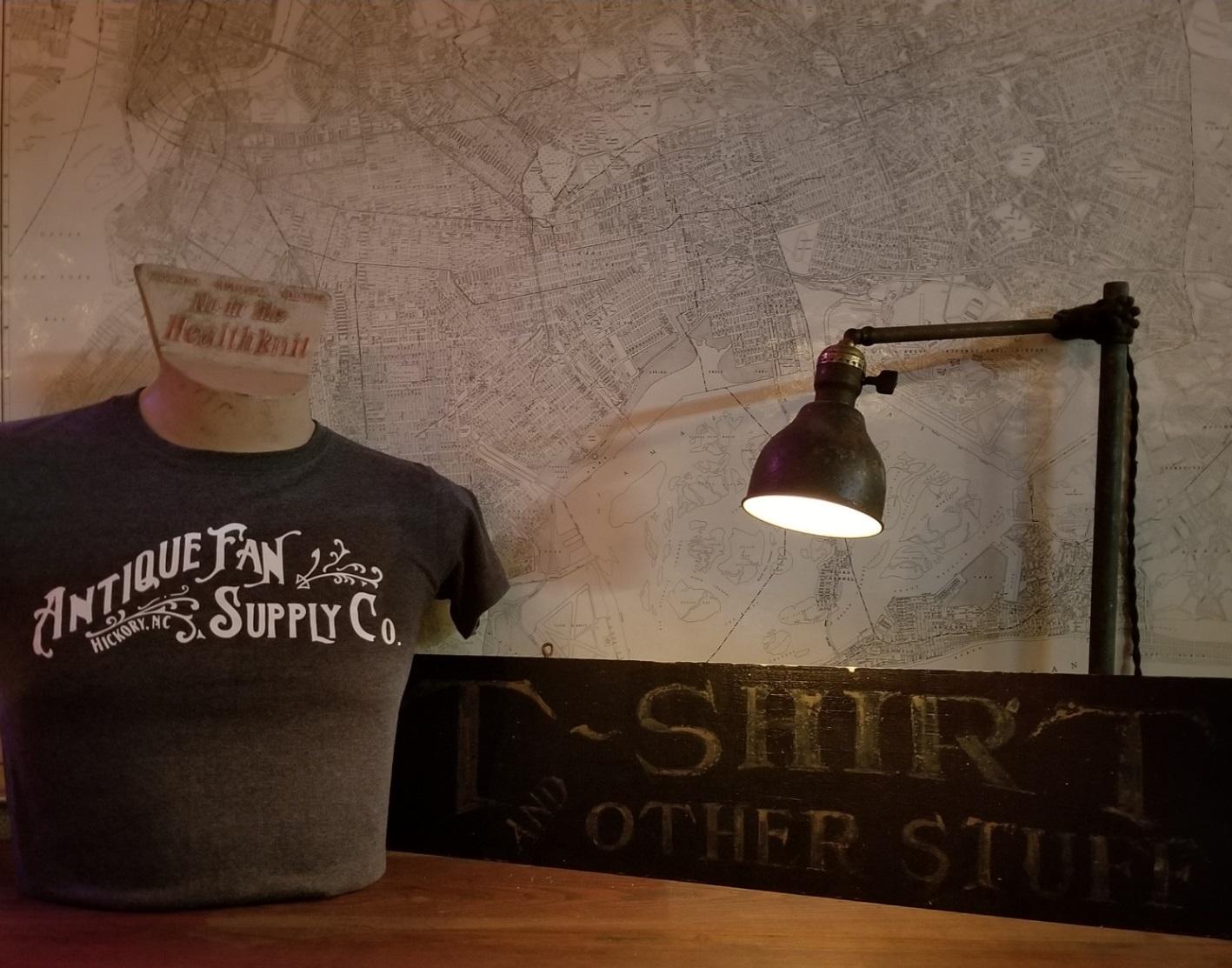 Antique Fan Supply Co. T-Shirt size Medium