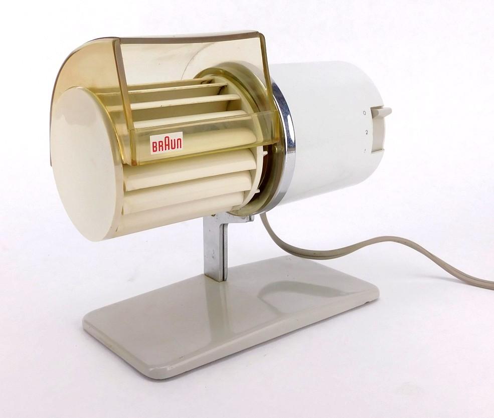 Circa 1960's Braun Turbine Desk Fan