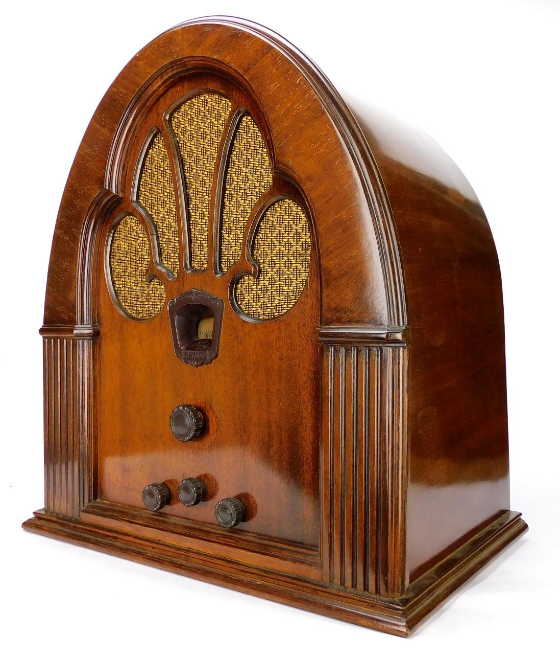 1930's Philco Model 70 Super Heterodyne Radio Refurbished