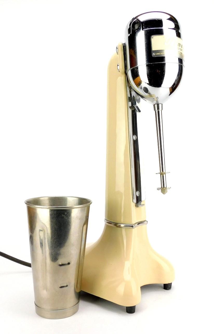 Circa 1960's Dormeyer Commercial Milkshake Maker Ivory