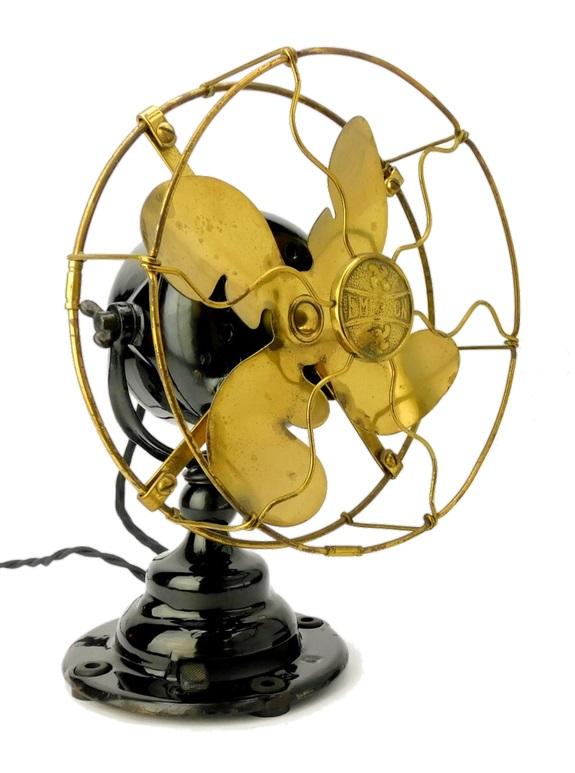 "Circa 1914 8"" Emerson Type 19644 Desk Fan"