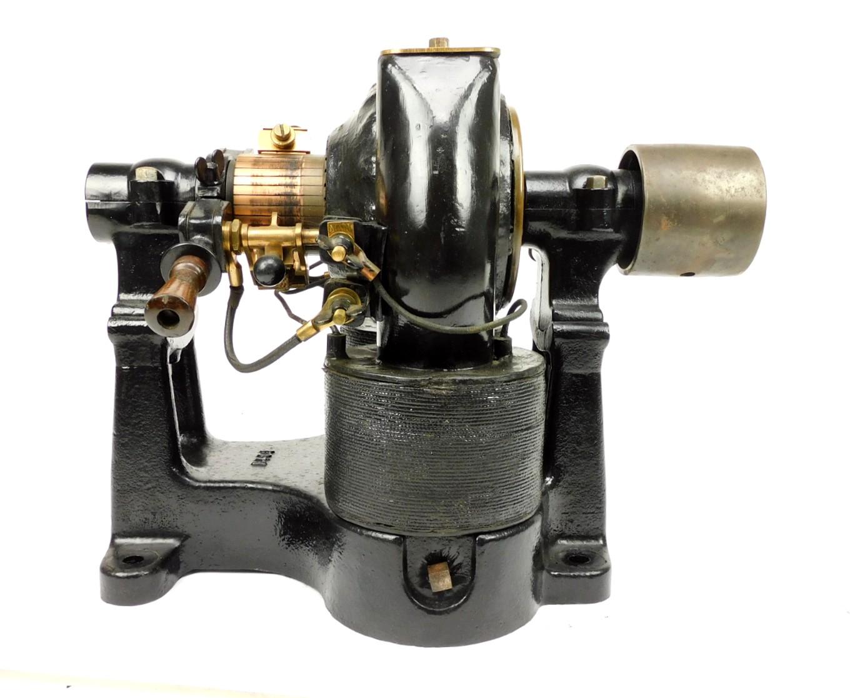 Circa 1900 Crocker Wheeler Bipolar Motor 1 H.P. 220 Volts