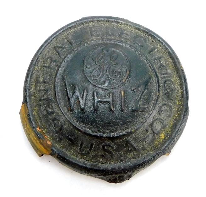 Original GE Whiz Cage/ Guard Badge