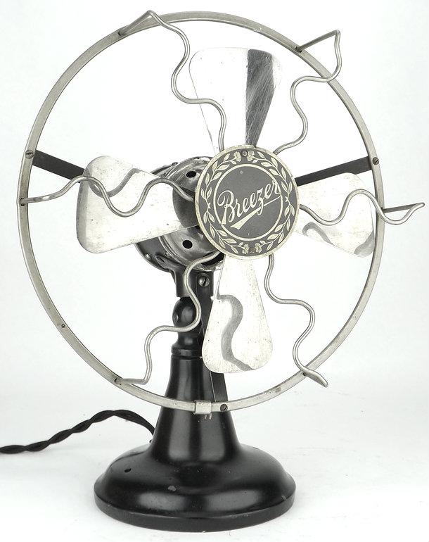 """1916 8"""" Lindstrom Smith Breezer Fan"""