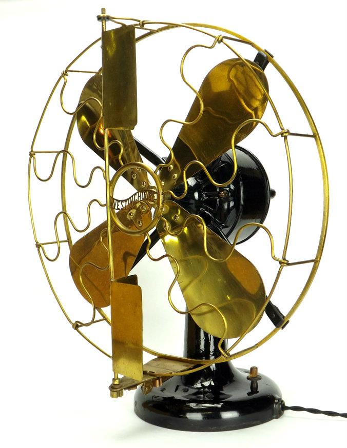 "16"" Westinghouse Vane 95% Original Paint Original Vane Kit"