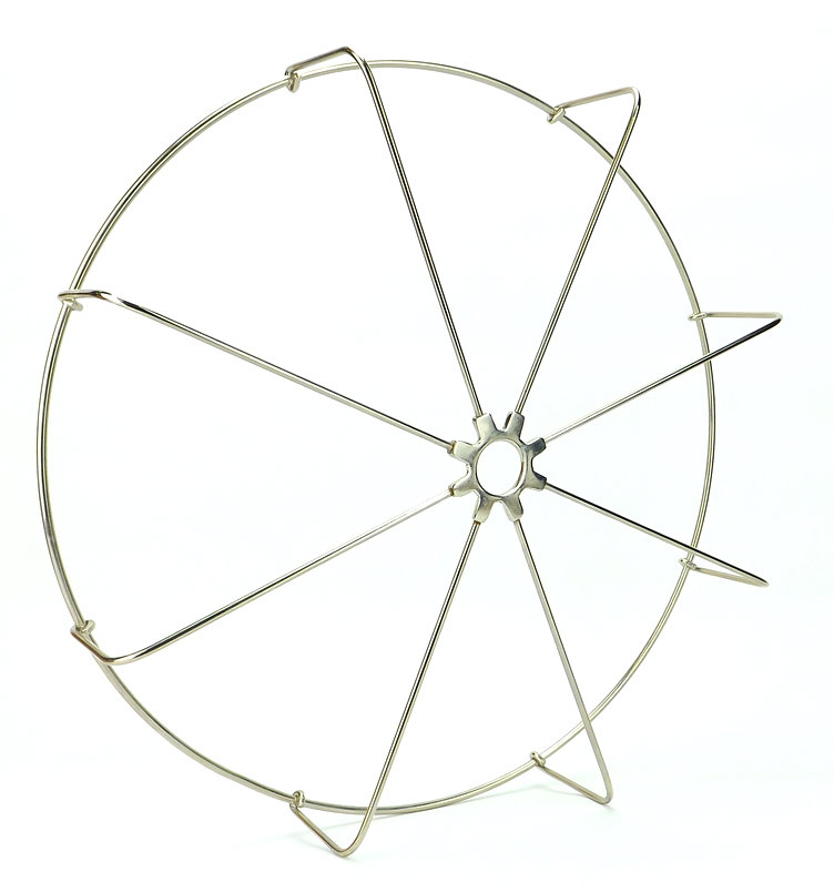LIMITED PRODUCTION GUARD/CAGE FOR SPECIALTY WATER FAN NICKEL PLATED STRAIGHT WIRES