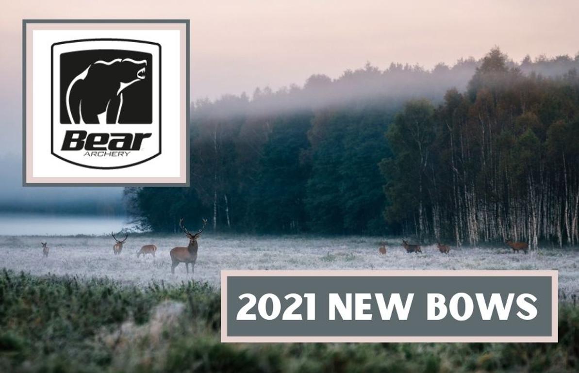 2021 Bear Archery New Bows