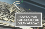 How do you calculate FOC on arrows?