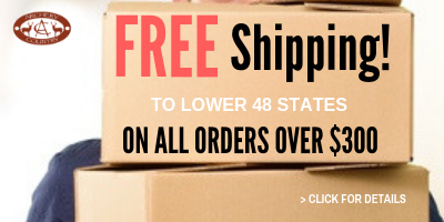 Free Shipping Orders over $300