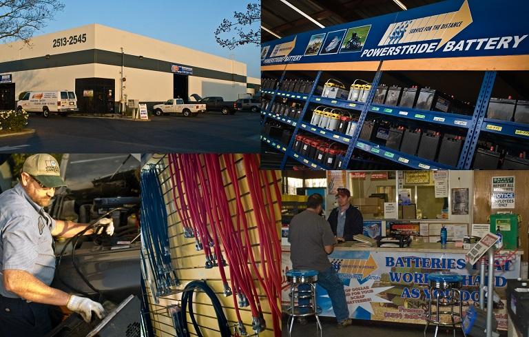 Powerstride Battery Fresno, CA