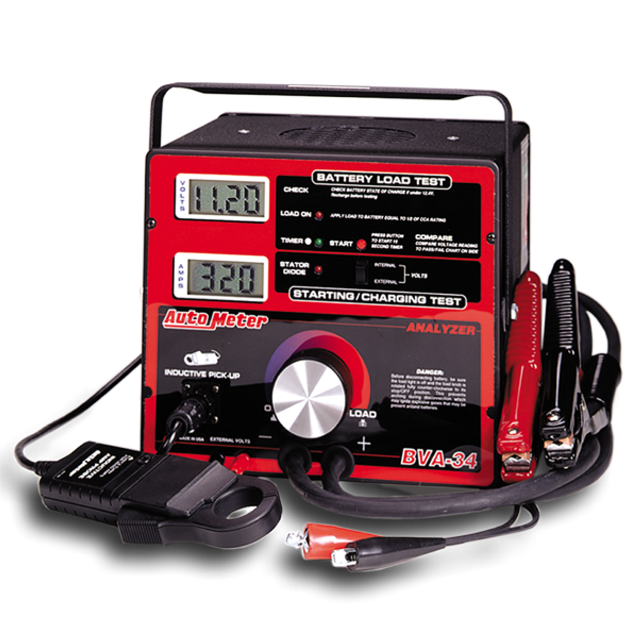 6v 12v 500 Amp Carbon Pile Battery Load Tester Alternator Starter 1000a Testing