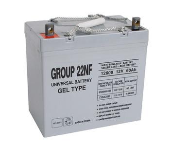 12 Volt 60 Ah Gel Cell Sealed Lead Acid Battery (D5871)