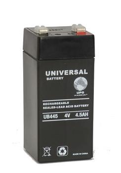 4 Volt 4.5 Ah SLA Battery - UB445