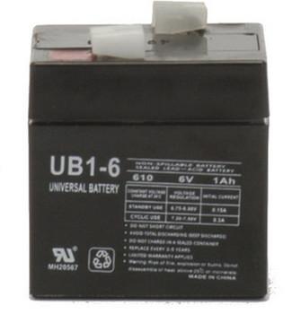 6 Volt 1 Ah SLA Battery - UB610 SLA Battery