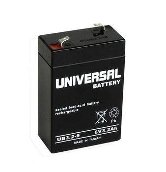 6 Volt 3.2 Ah SLA Battery - UB632 (D5695)