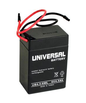 UB645WL - 6 Volt 4.5 Ah SLA Battery