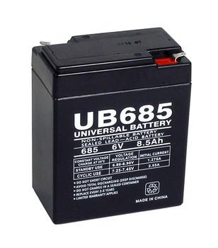 6 Volt 8.5 Ah SLA Battery - UB685