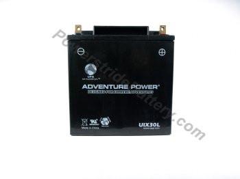 Adventure Power UIX30L AGM Motorcycle Battery - YIX30L