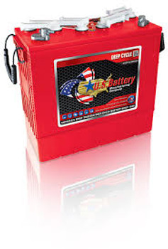 US 185HC XC2 - 12 Volt Industrial Battery