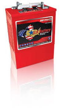 US L16HC XC2 - 6 Volt 420 Ah Aerial Lift Industrial Battery