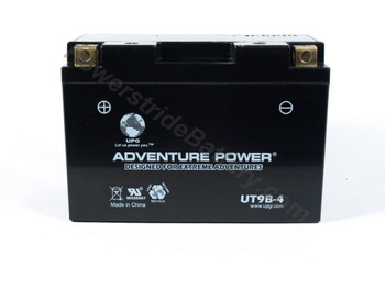 Adventure Power UT9B-4 AGM Motorcycle Battery - YT9B-BS (discontinued)