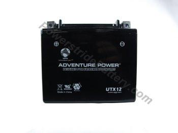Adventure Power UTX12 AGM Battery - YTX12-BS