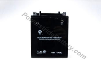 Adventure Power UTX14AHL AGM Motorcycle Battery - YTX14AHL-BS