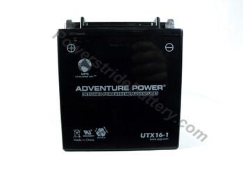 Adventure Power UTX16-1 AGM Motorcycle Battery - YT16B-BS-1