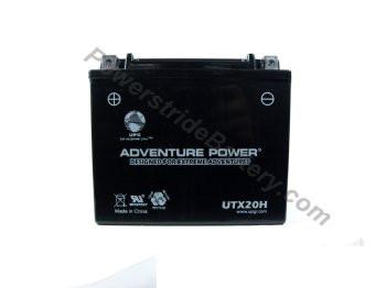 Adventure Power UTX20H AGM Battery - YTX20H-BS