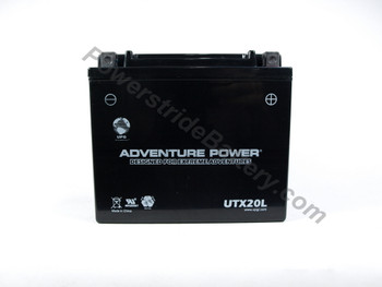 Adventure Power UTX20L AGM Battery - YTX20L