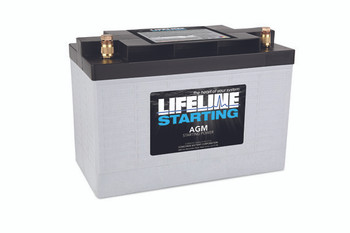 Wilkov 5000 Utility Tractor Battery