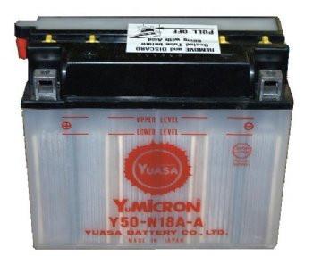 YUASA Y50-N18A-A Motorcycle Battery (discontinued)