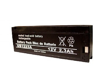Zeus PC2.3-12 Battery Replacement