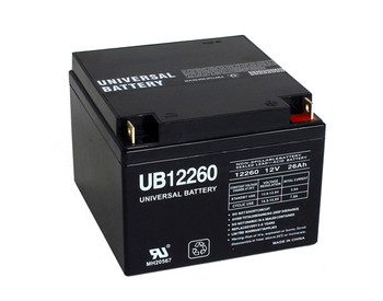 Zeus PC26-12NB Battery Replacement