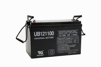 UB121100 - 12 Volt 110 Ah AGM Battery (45981)