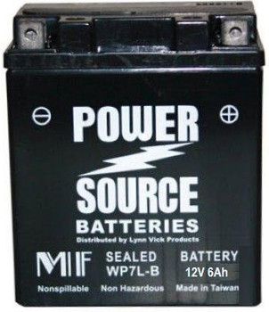 WP7L-BS AGM Motorcycle Battery - YTX7L-BS