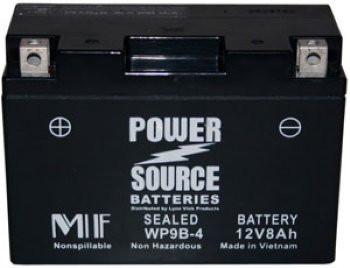 WP9B-4 AGM Motorcycle Battery - YT9B-4