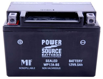 WP12A-BS AGM Motorcycle Battery-YT12A-BS