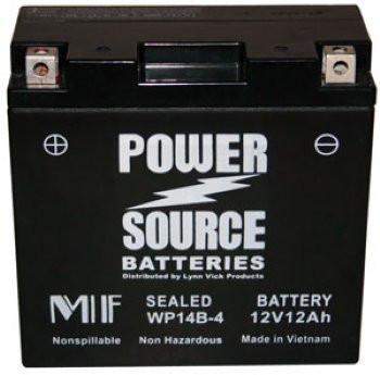 WP14B-4 AGM Motorcycle Battery - YT14B-4