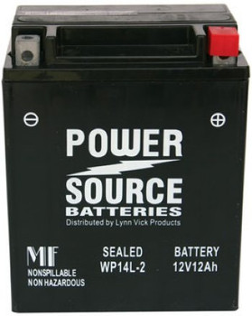 WP14L-2 AGM Motorcycle Battery - YTX14AHL-BS