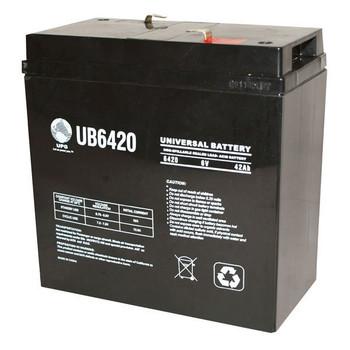 6 Volt 42 Ah SLA Battery - UB6420 (40560)
